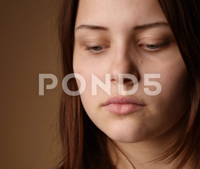 Surprised Teen Girl Looking To A Camera And Making Faces Clip 81721162