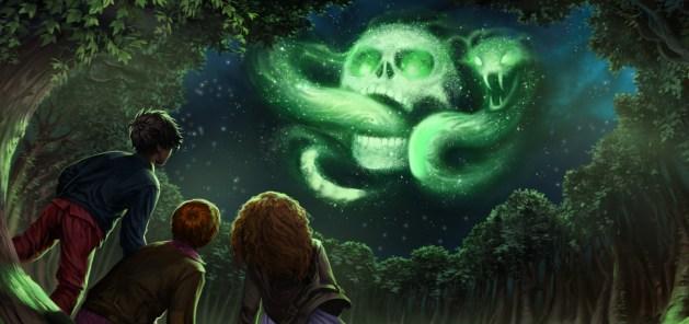 Harry Potter and the Goblet of Fire বইয়ের একটি দৃশ্যের চিত্রায়ন