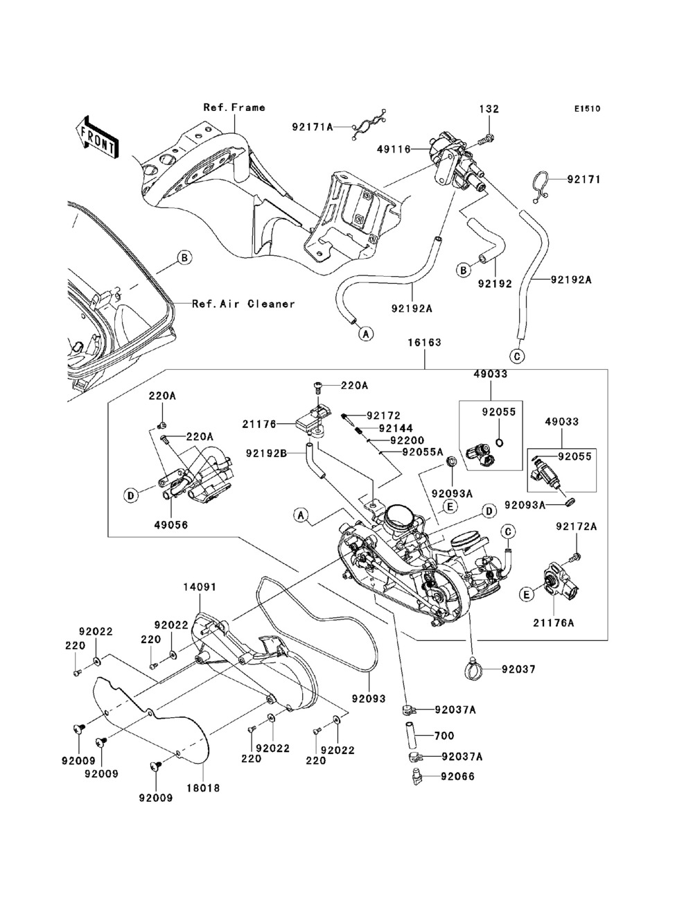 Suzuki lt 125 carburetor diagram hd image