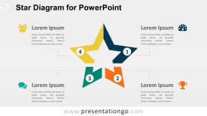 Star Diagram for PowerPoint  PresentationGO