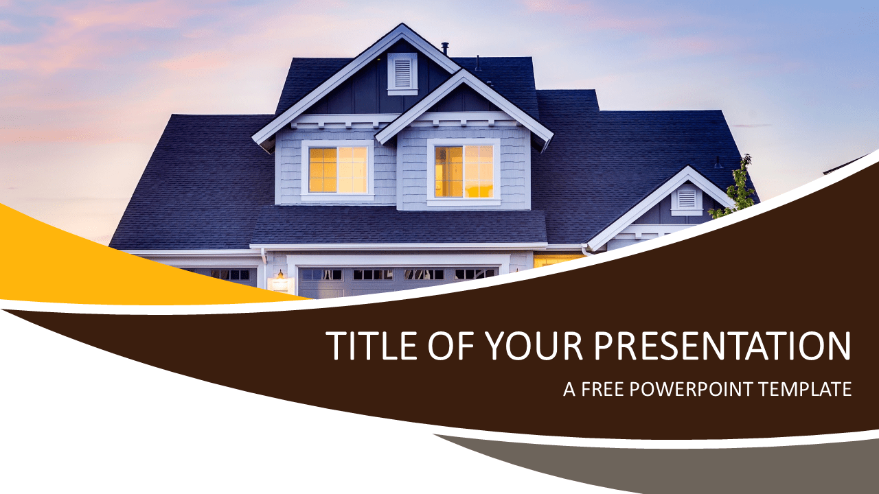 Real Estate Powerpoint Template Presentationgo Com