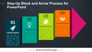 StepUp Block and Arrow Process for PowerPoint