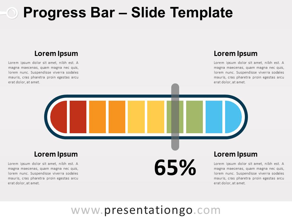 Progress Bar For Powerpoint And Google Slides Presentationgo Com