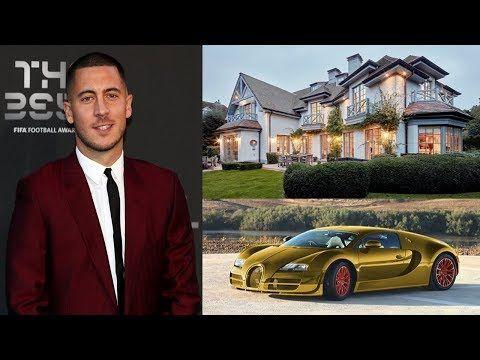Eden Hazard is the number 9 richest footballer in the world