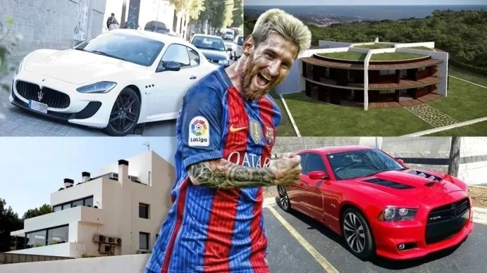 Barcelona club captain and legend Lionel Messi is the third richest footballer in the world
