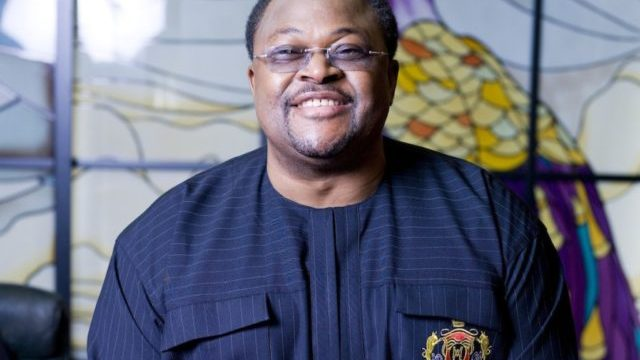 The founder of Globacom and Conoil, Mike Adenuga.