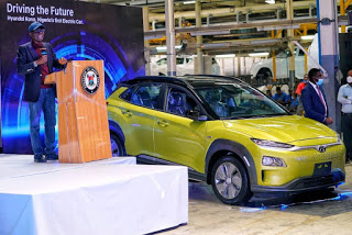 Sanwo-Olu unveils first electric vehicle in Nigeria - Clacified