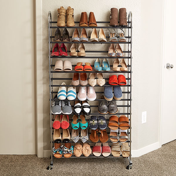 how to organize shoes shoe
