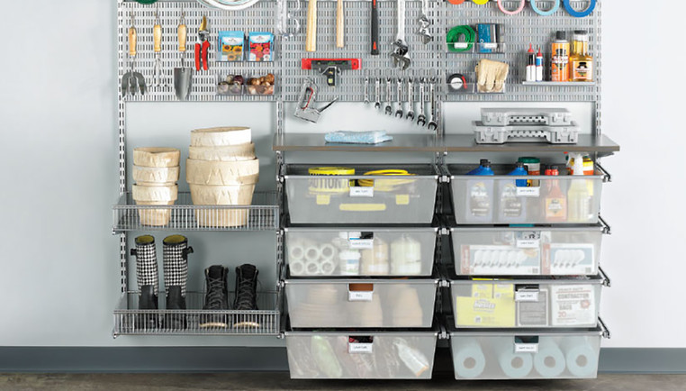 Garage Storage Organization Ideas The Container Store