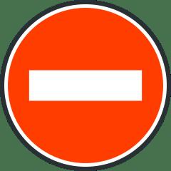 Panneaux De Sens Interdit Presentation Et Role Ornikar
