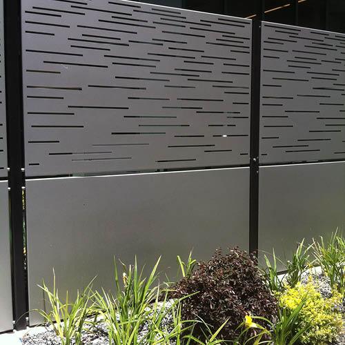en aluminium pour un jardin