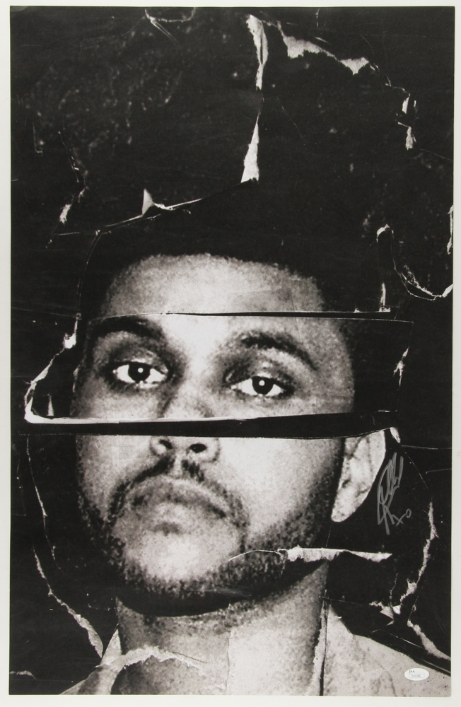 the weeknd signed beauty behind the