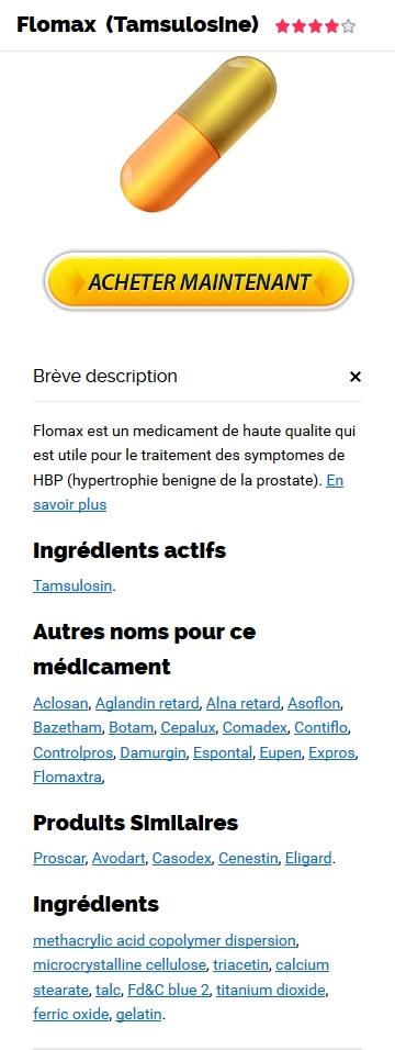 Flomax Générique Acheter