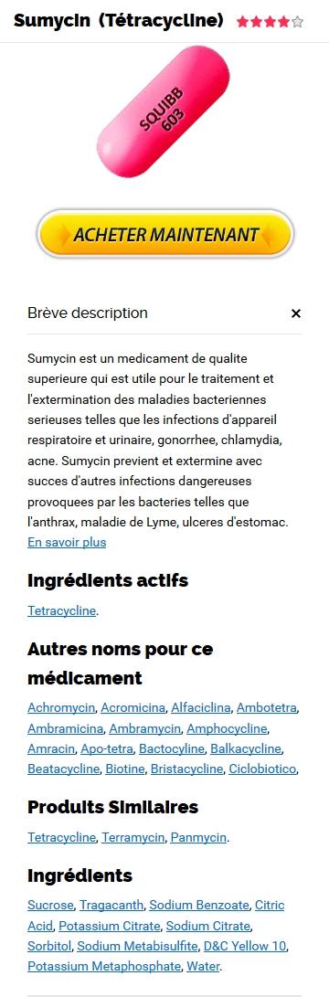 Acheter Tetracycline Generique Pas Cher