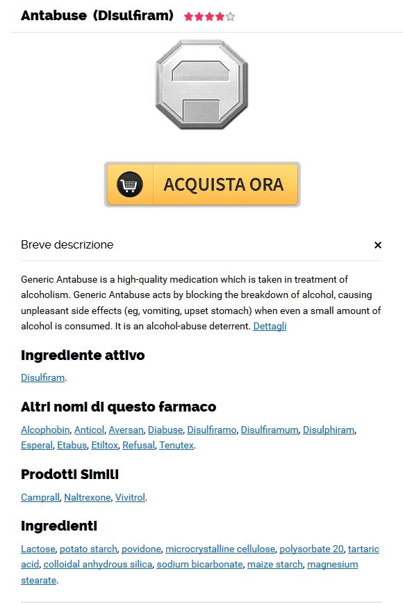 Antabuse 500 mg A Buon Mercato Genova – Farmacia di famiglia canadese