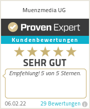Erfahrungen & Bewertungen zu Muenzmedia UG