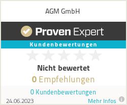 Erfahrungen & Bewertungen zu AGM GmbH