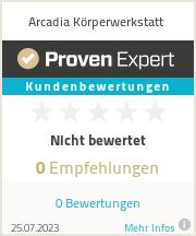Erfahrungen & Bewertungen zu Arcadia Körperwerkstatt