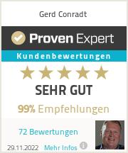 Erfahrungen & Bewertungen zu Gerd Conradt