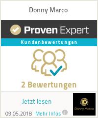 Erfahrungen & Bewertungen zu Donny Marco