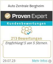 Erfahrungen & Bewertungen zu Auto Zentrale Bergheim