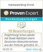 Erfahrungen & Bewertungen zu HardwareShop Ernst