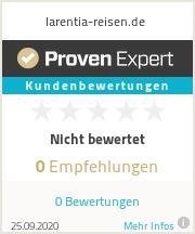Erfahrungen & Bewertungen zu larentia-reisen.de