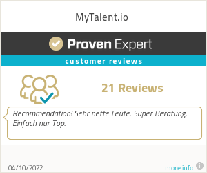 Ratings & reviews for MyTalent.io