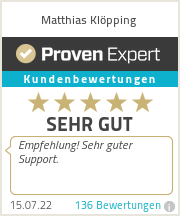 Erfahrungen & Bewertungen zu Matthias Klöpping