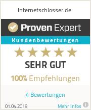 Erfahrungen & Bewertungen zu Internetschlosser.de