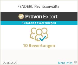 Erfahrungen & Bewertungen zu FENDERL Rechtsanwälte