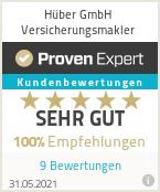 Erfahrungen & Bewertungen zu Hüber GmbH Versicherungsmakler