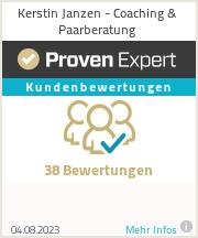 Erfahrungen & Bewertungen zu Kerstin Janzen - Coaching & Paarberatung