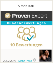 Erfahrungen & Bewertungen zu Simon Karl