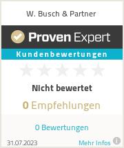 Erfahrungen & Bewertungen zu W. Busch & Partner