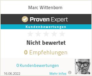 Erfahrungen & Bewertungen zu Marc Wittenborn