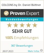Erfahrungen & Bewertungen zu Dr. Daniel Büttner