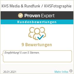 Erfahrungen & Bewertungen zu KHS Media & Rundfunk / KHSFotographie