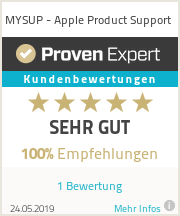Erfahrungen & Bewertungen zu MYSUP - Apple Product Support