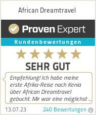 Erfahrungen & Bewertungen zu African Dreamtravel