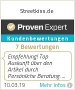 Erfahrungen & Bewertungen zu Streetkiss.de