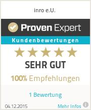 Erfahrungen & Bewertungen zu inro e.U.