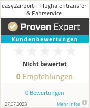 Erfahrungen & Bewertungen zu easy2airport - Flughafentransfer & Fahrservice