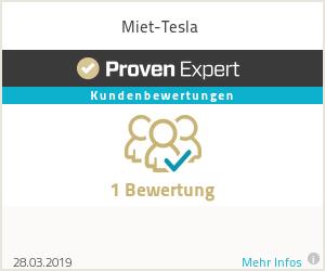 Erfahrungen & Bewertungen zu Miet-Tesla