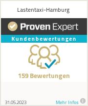 Erfahrungen & Bewertungen zu Lastentaxi-Hamburg