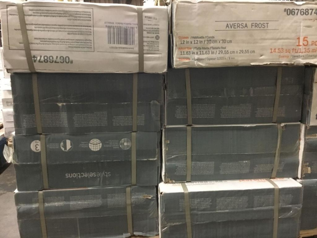 cases of styleselections ceramic tile