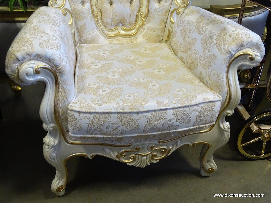 ivory and gold elegant chair by polrey
