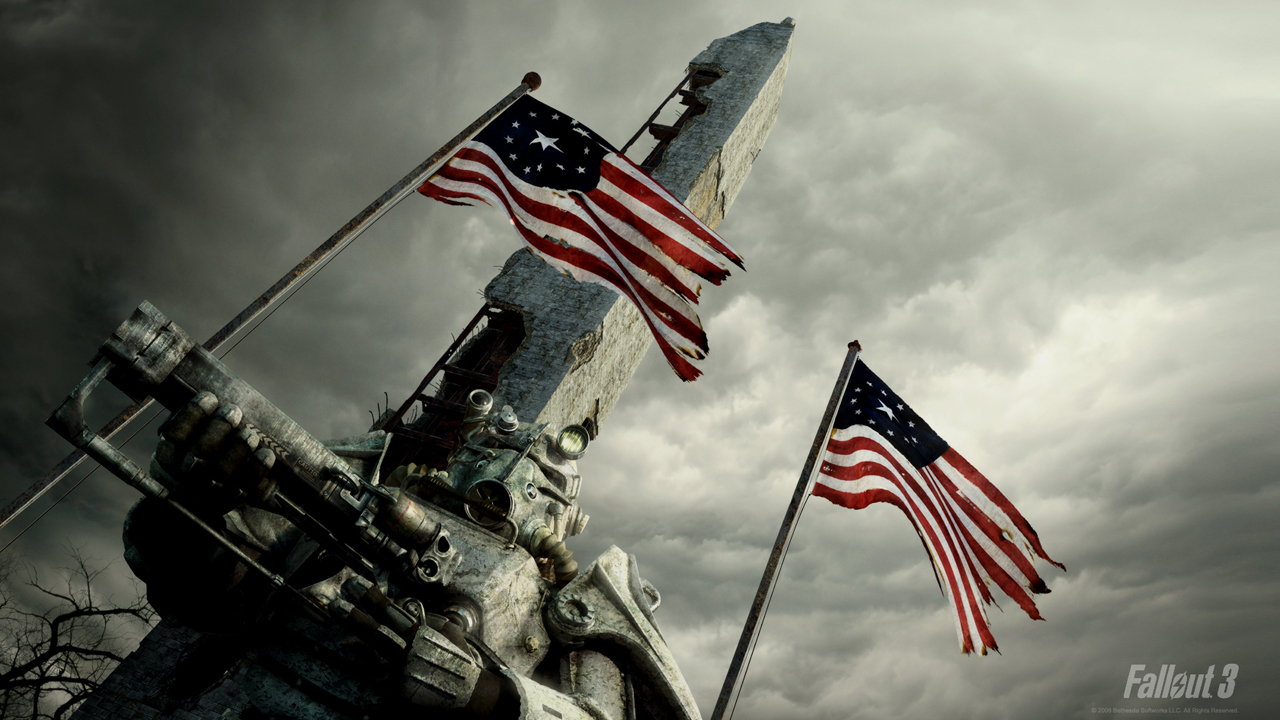 This is a Fallout 3 - Patriotic wallpaper. This Fallout 3 - Patriotic