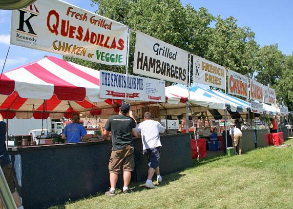 Taste of Minnesota, Harriet Island Park, St. Paul, Minn.