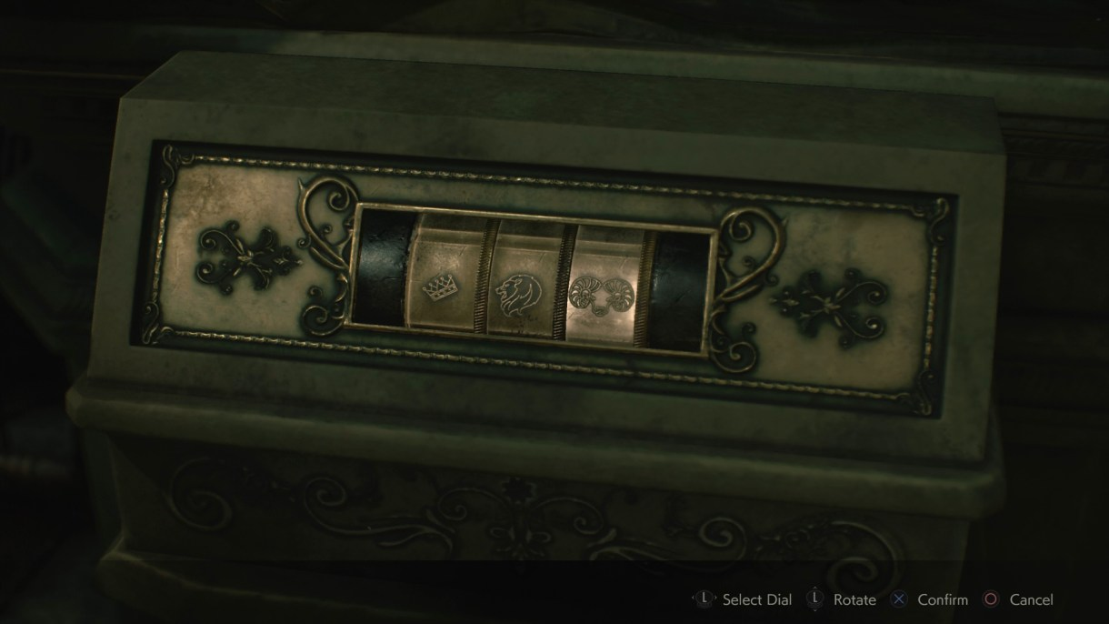 نتيجة بحث الصور عن resident evil 2 puzzle